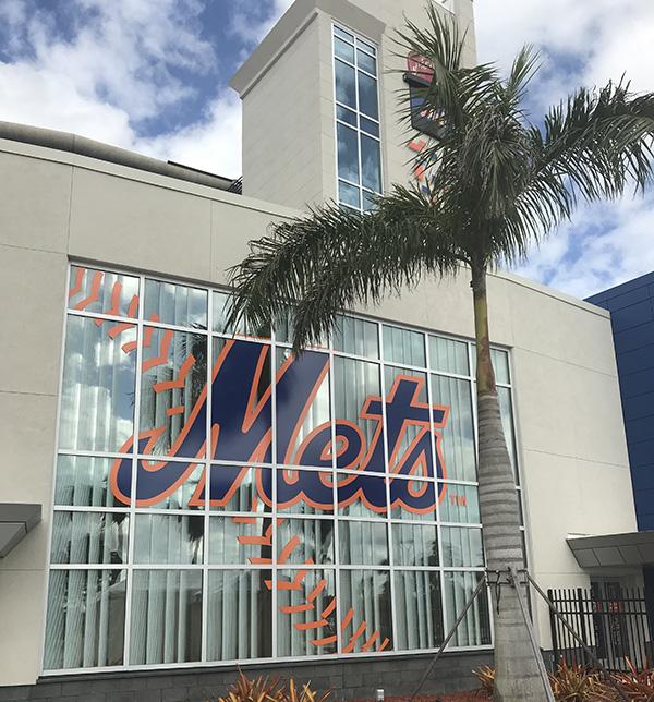 Mets training center